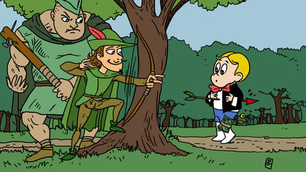 Robinhood take's from the Richie by Guyster