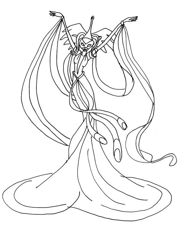 winx daphne sirenix coloring pages | Winx Club Daphne Sirenix Coloring Pages Coloring Pages