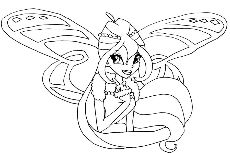 Winx Club Coloring Pages Bloomix Eskayalitim