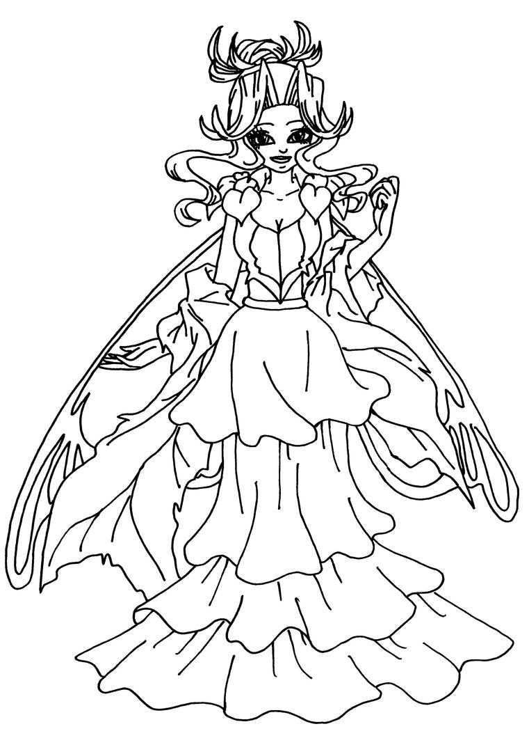 queen clarion coloring pages - photo #15