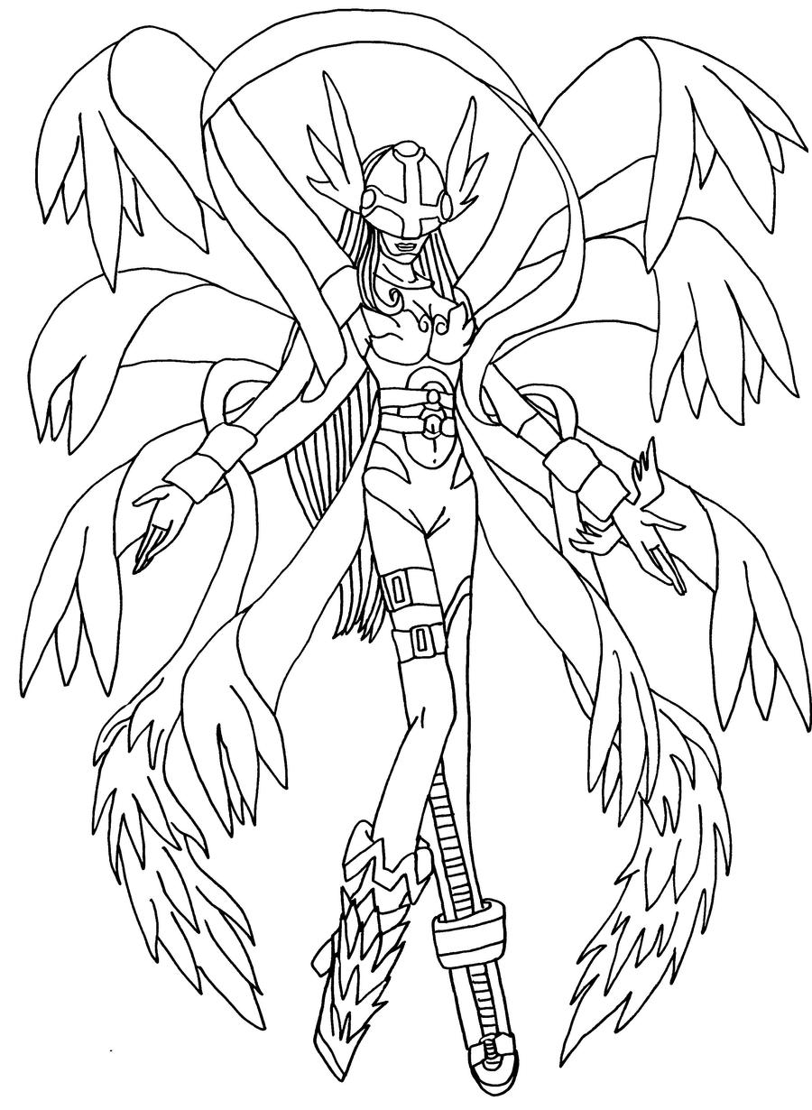 Digimon cutemon free colouring pages for Free digimon coloring pages