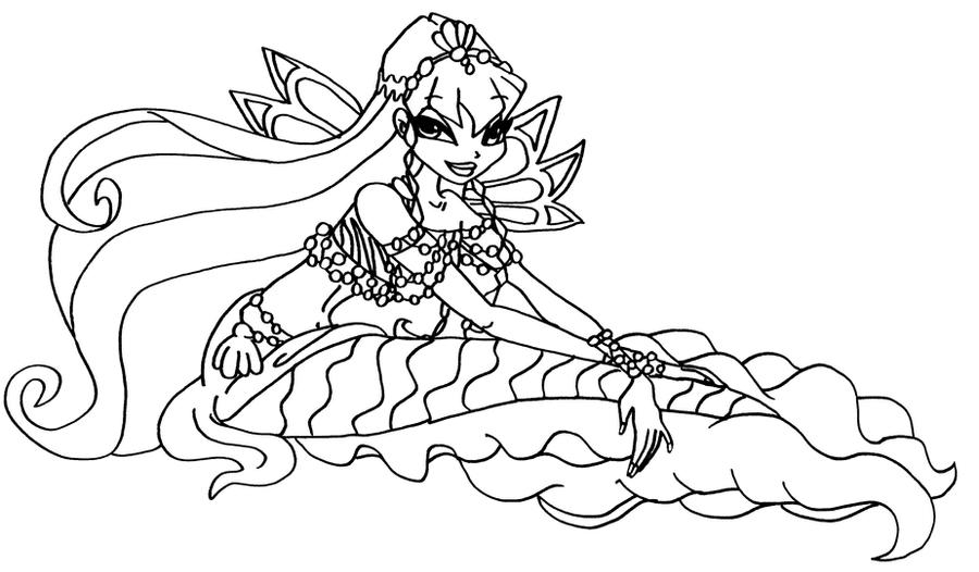 Stella             Bw_stella_mermaid_2_by_elfkena-d3b41ic