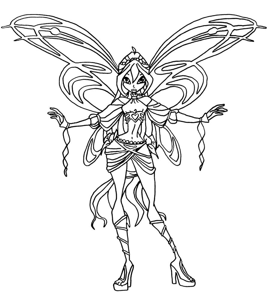 winx club coloring pages lovix - photo#25