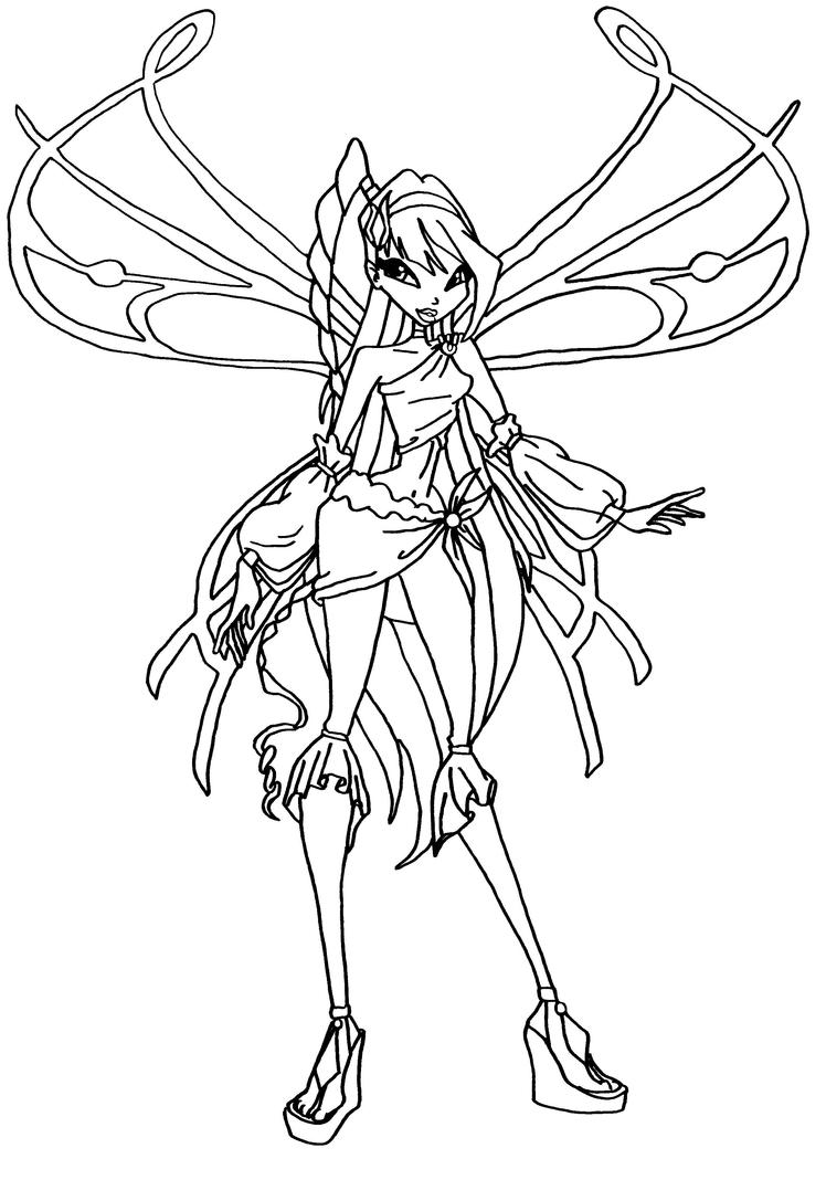 musa winx coloring pages - photo#36