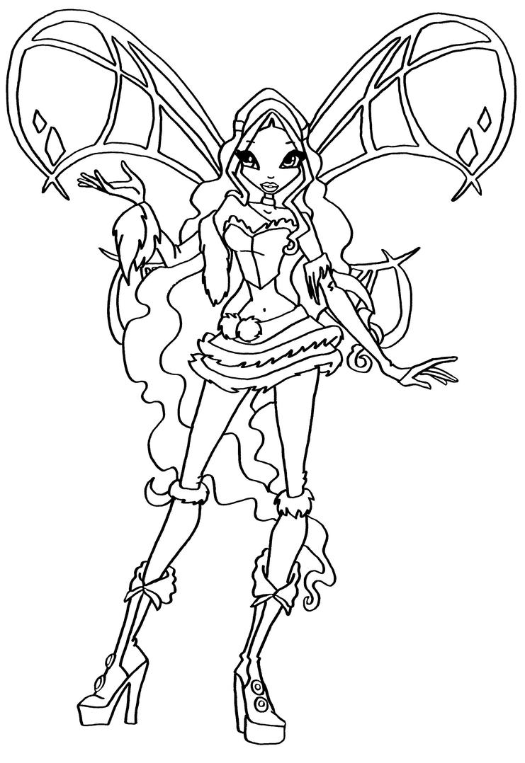 winx club coloring pages lovix - photo#6
