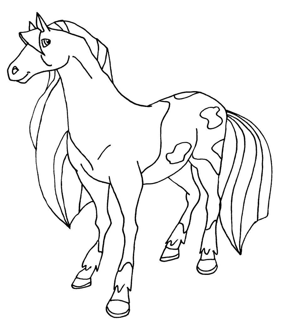 horseland coloring book pages - photo#32