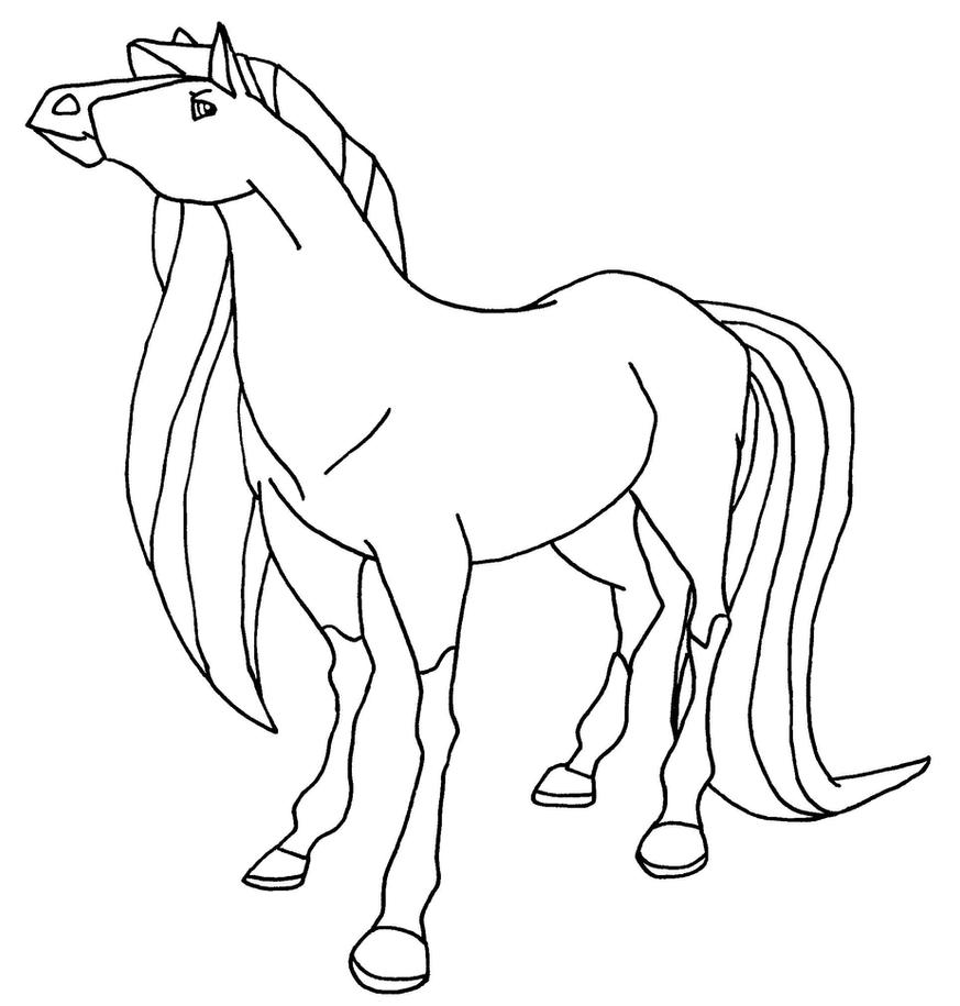 Coloring pages horseland the image kid for Coloring pages horseland