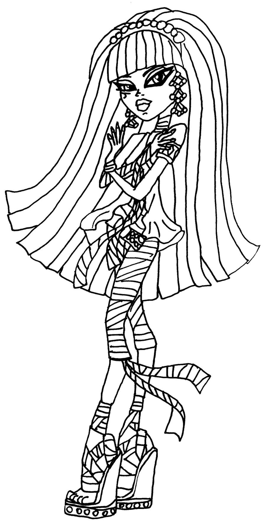 cleo de nile coloring pages - photo#11