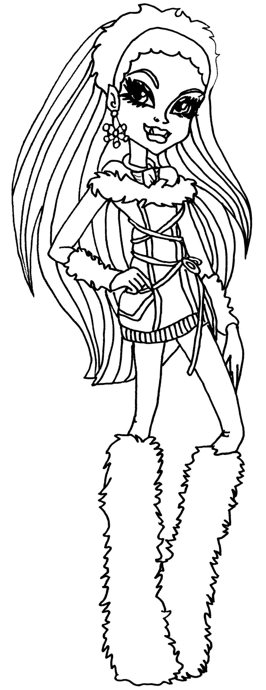 abbey bominable coloring pages - photo#10