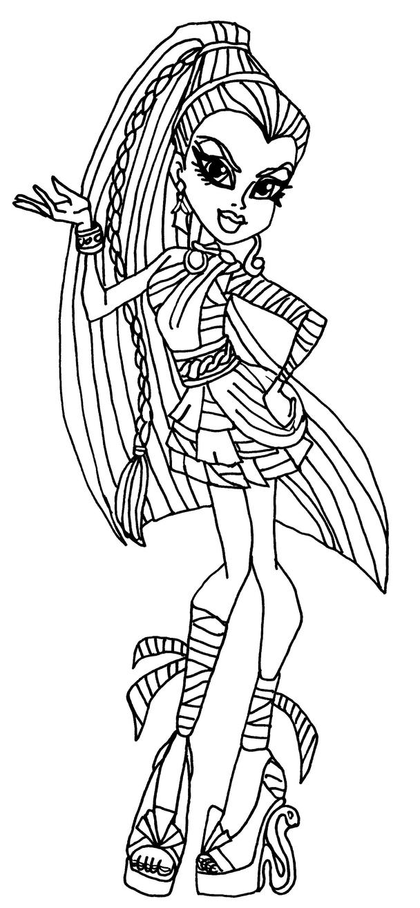 1000 images about coloring pages on pinterest monster for Monster high coloring pages all characters