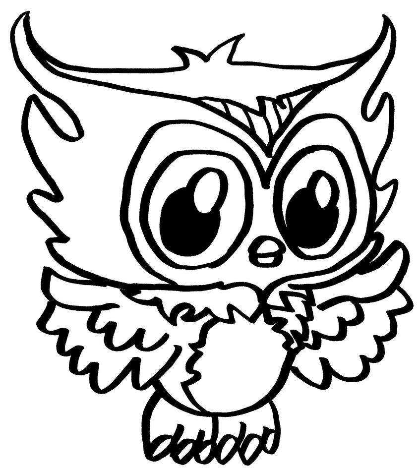 Sh shopkins coloring pages print - Hoot A Lot By Elfkena
