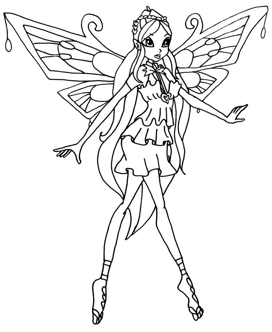 Comment dessiner une winx enchantix - Winx club dessin ...