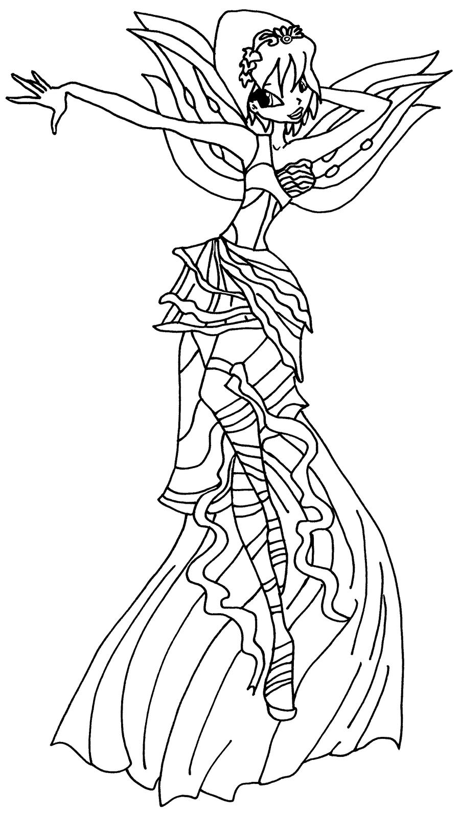 winx club coloring pages lovix - photo#27