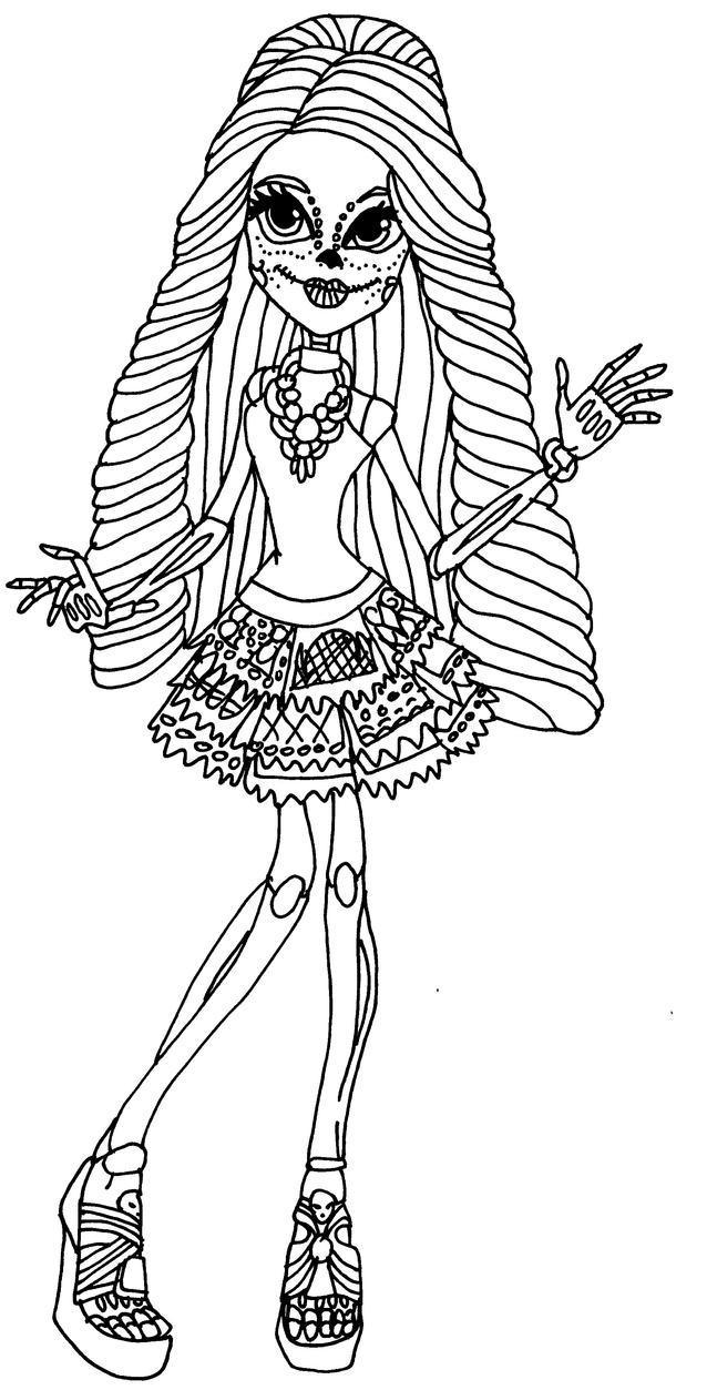 Skelita Calaveras By Elfkena