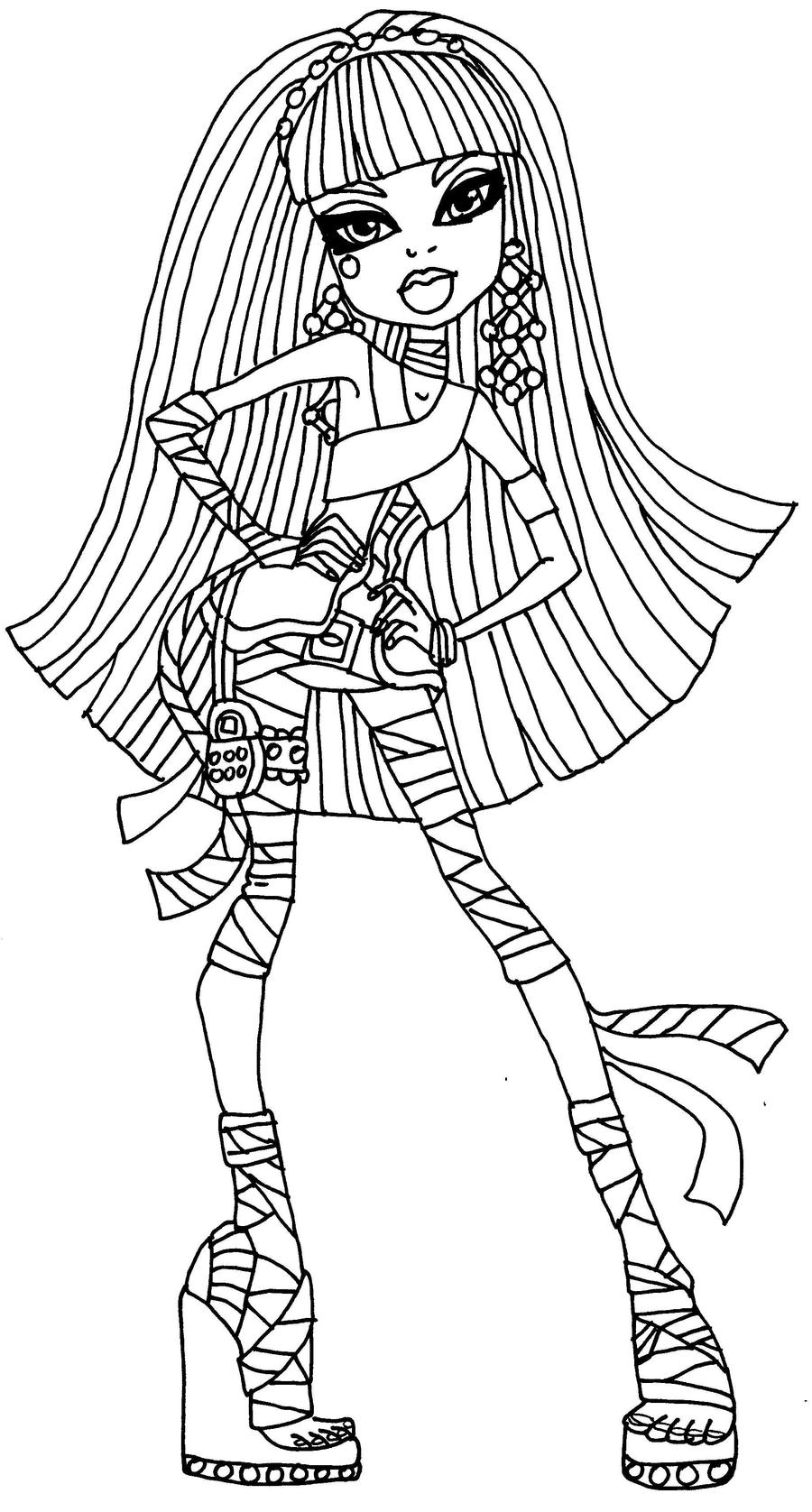 cleo de nile coloring pages - photo#7