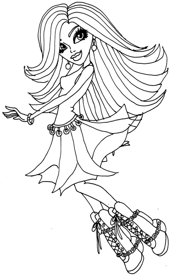 1000 images about Colouring monster high on Pinterest