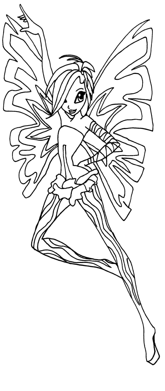 Sirenix tecna by elfkena on deviantart for Winx sirenix coloring pages