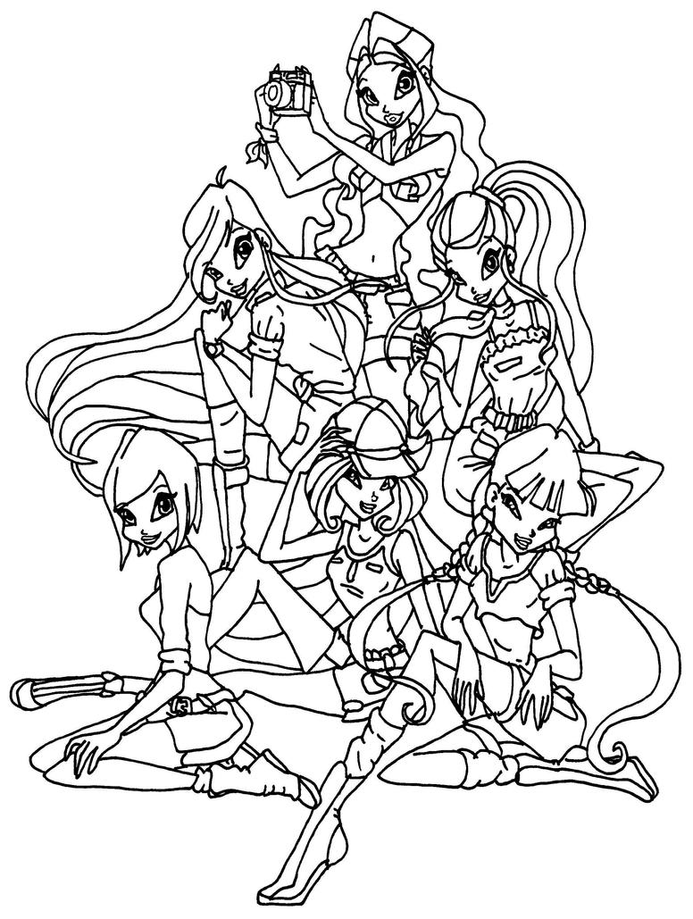 winx club safari by elfkena on deviantart