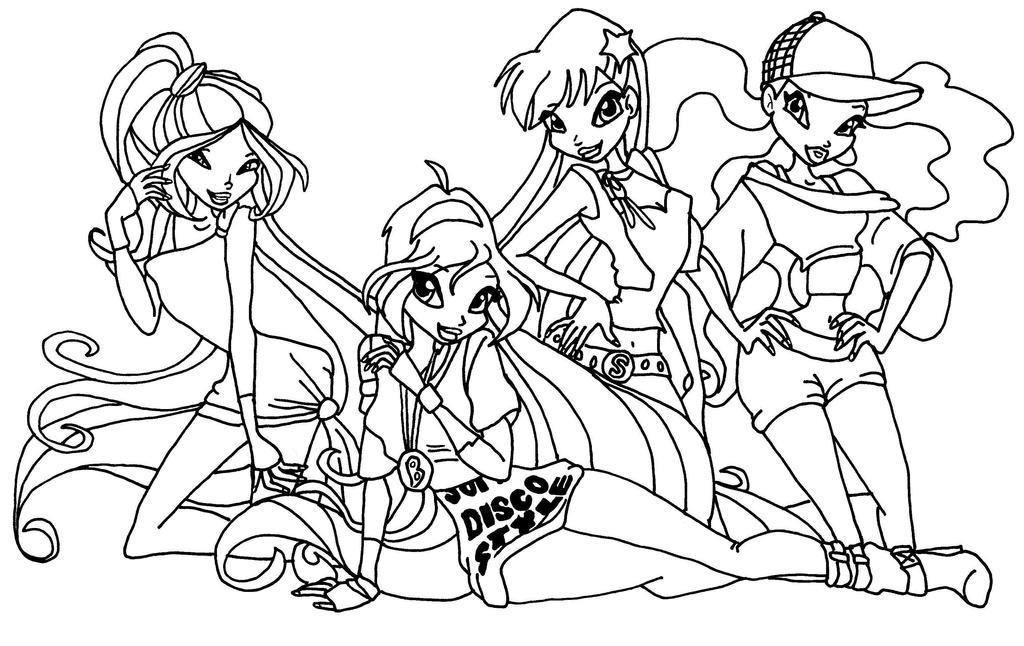 elfkena 9 1 disco girls by elfkena