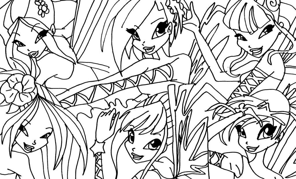 comment dessiner une winx sirenix