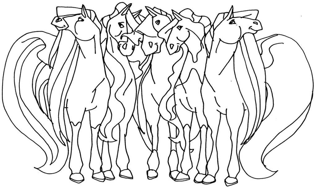 Horseland Horses By Elfkena