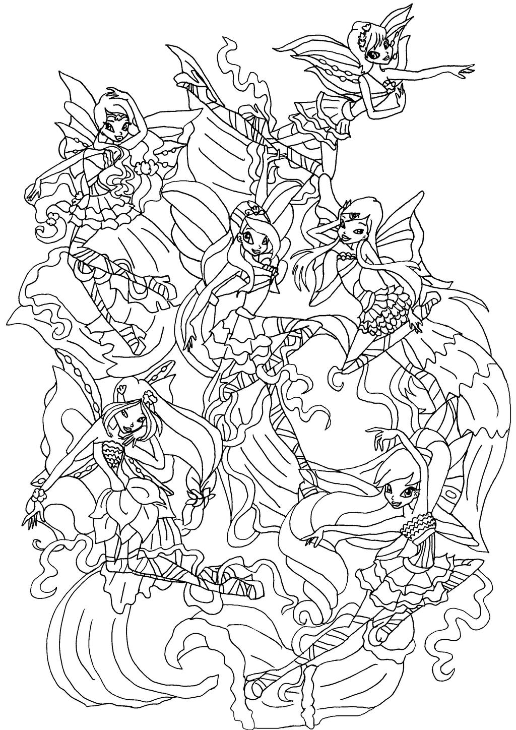 Winx club musa flyrix coloring pages coloriage - Winx Harmonix By Elfkena Winx Harmonix By Elfkena Coloriage Winx Harmonix Coloriage Layla Winx Cub Colouring Pages