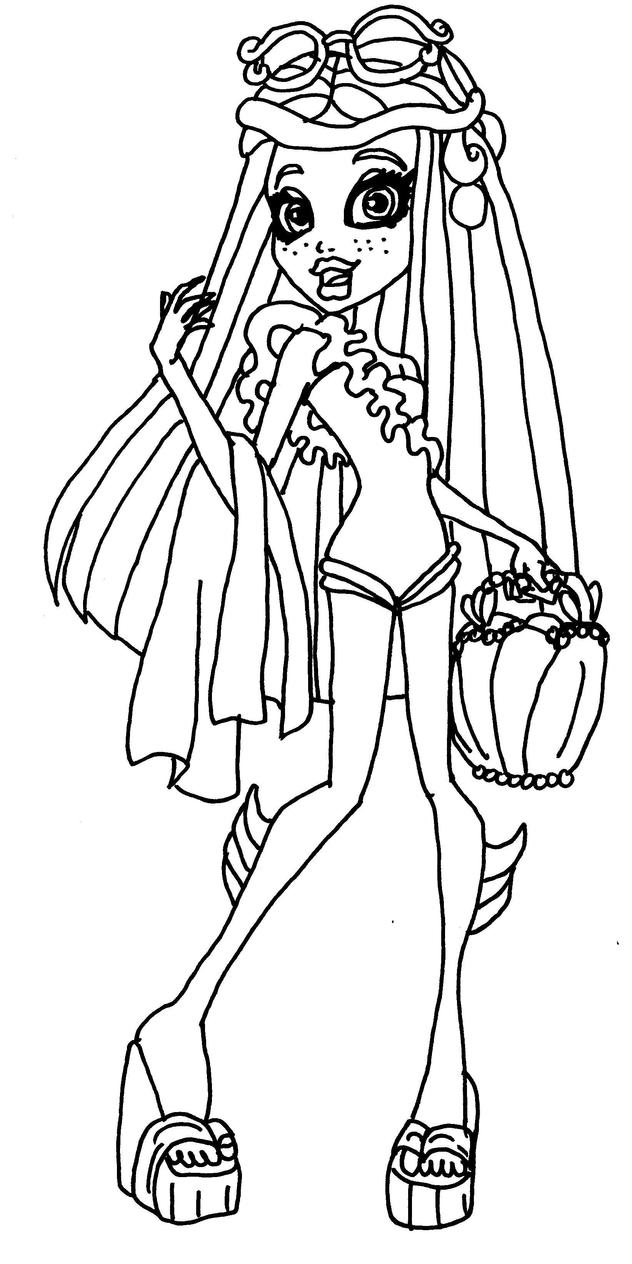 Monster High Coloring Pages Scaris Monster High Scaris Coloring