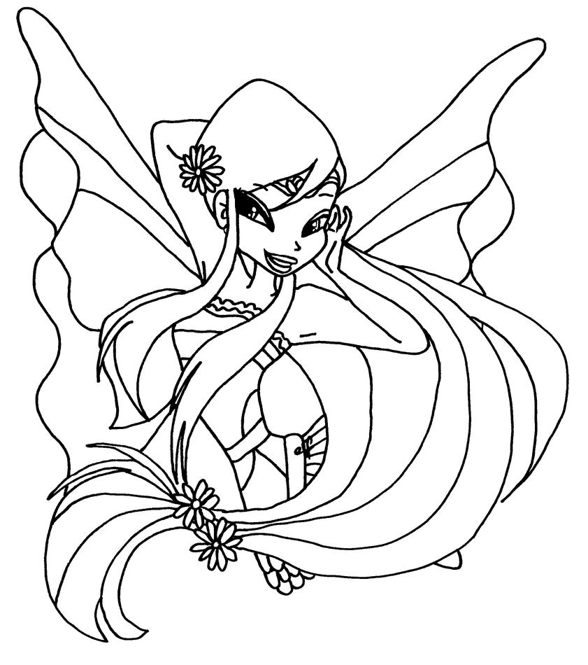 musa winx coloring pages - photo#28