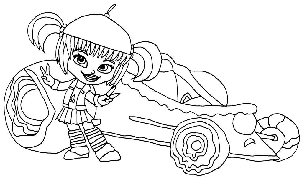 sugar rush coloring pages - photo#23