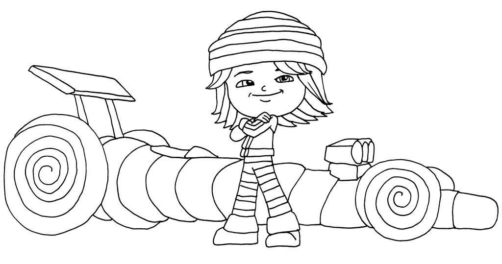 sugar rush coloring pages - photo#26