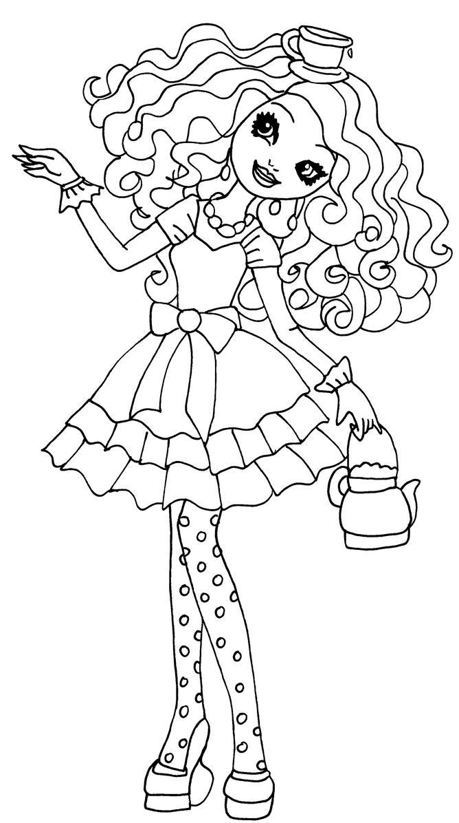 Madeline hatter by elfkena on deviantart for Madeline coloring pages