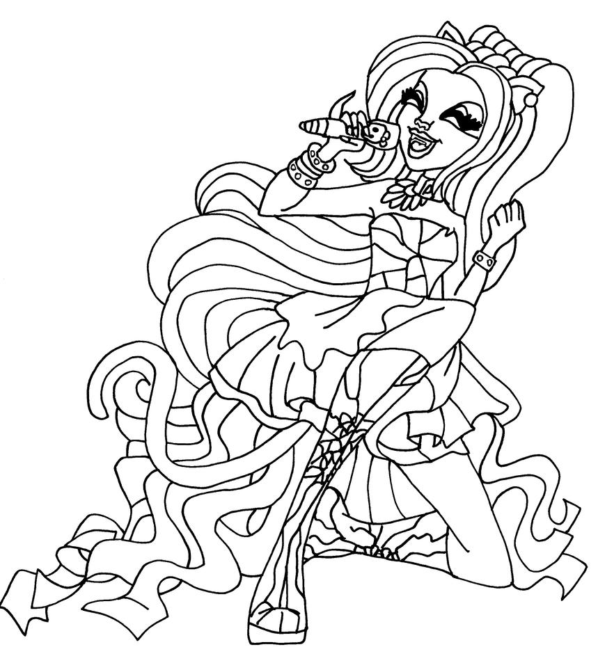 catty noir coloring pages - photo#2