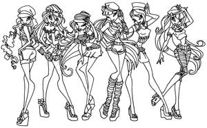 Winx sailor outfits