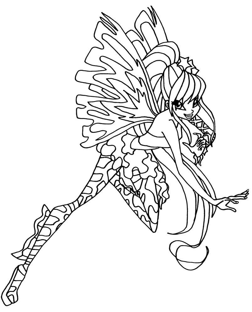 Sirenix stella by elfkena on deviantart for Disegni winx sirenix da colorare