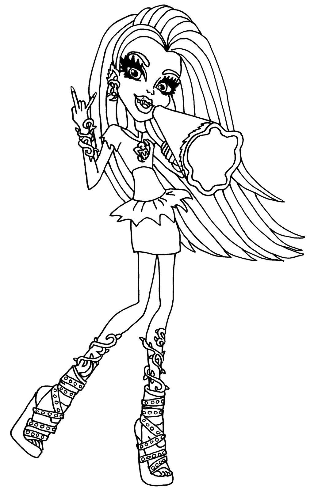 Ghoul Spirit Venus By Elfkena On Deviantart Venus Mcflytrap Coloring Pages