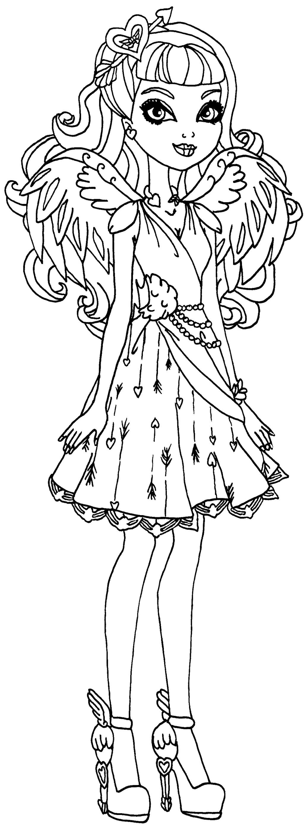 Apple White Eve... Ever After High Coloring Pages Apple White