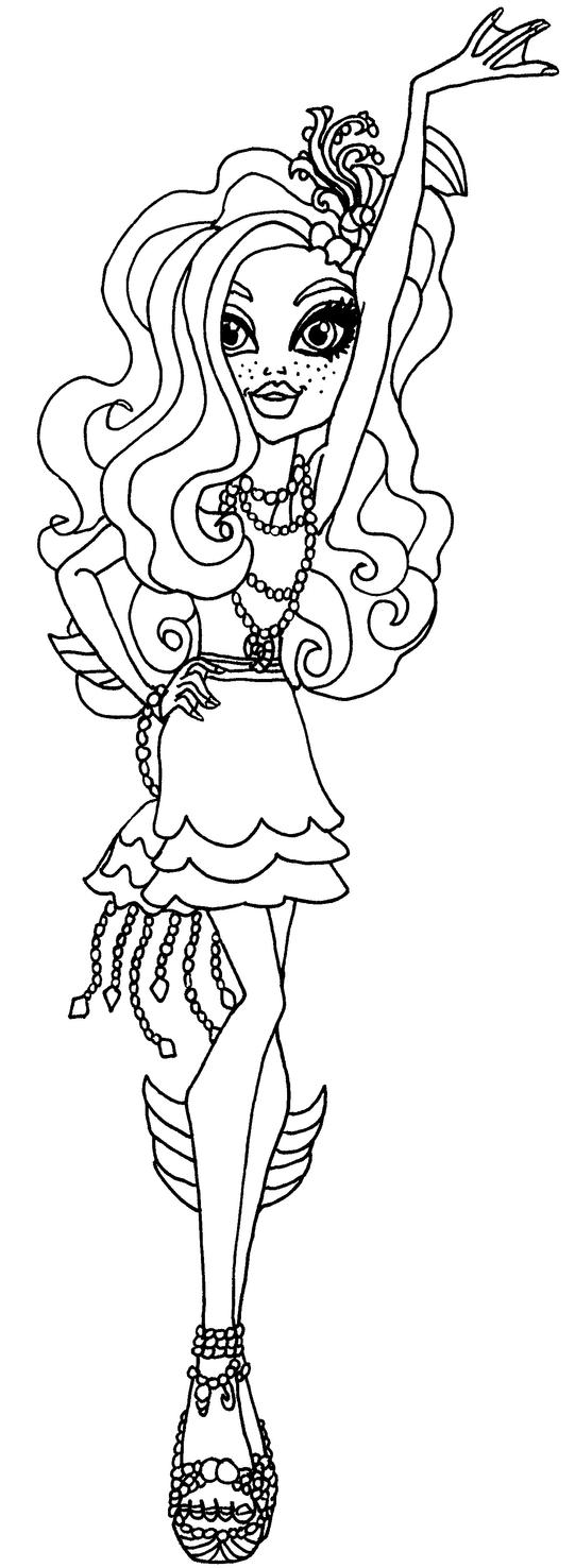 monster high coloring pages webarella free here