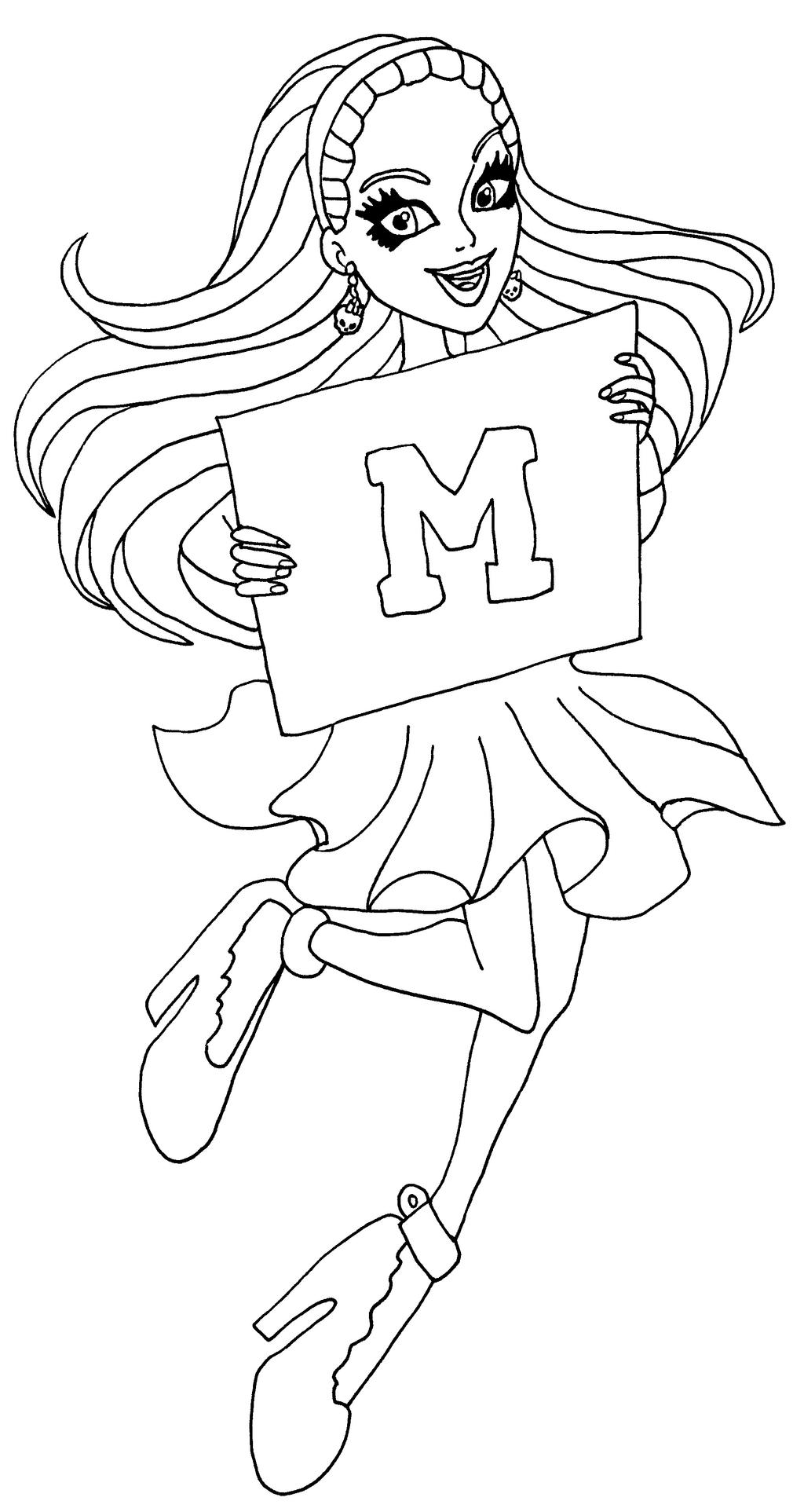 wally the green monster coloring pages - photo #21