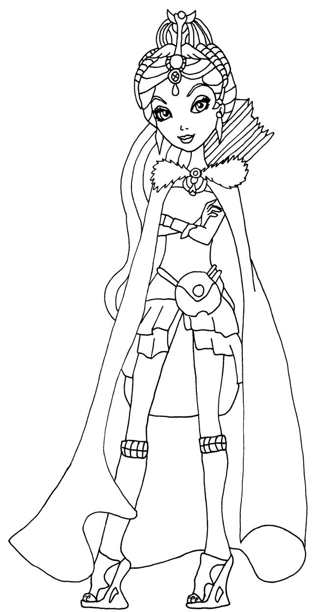 holly ohair coloring pages - photo#27