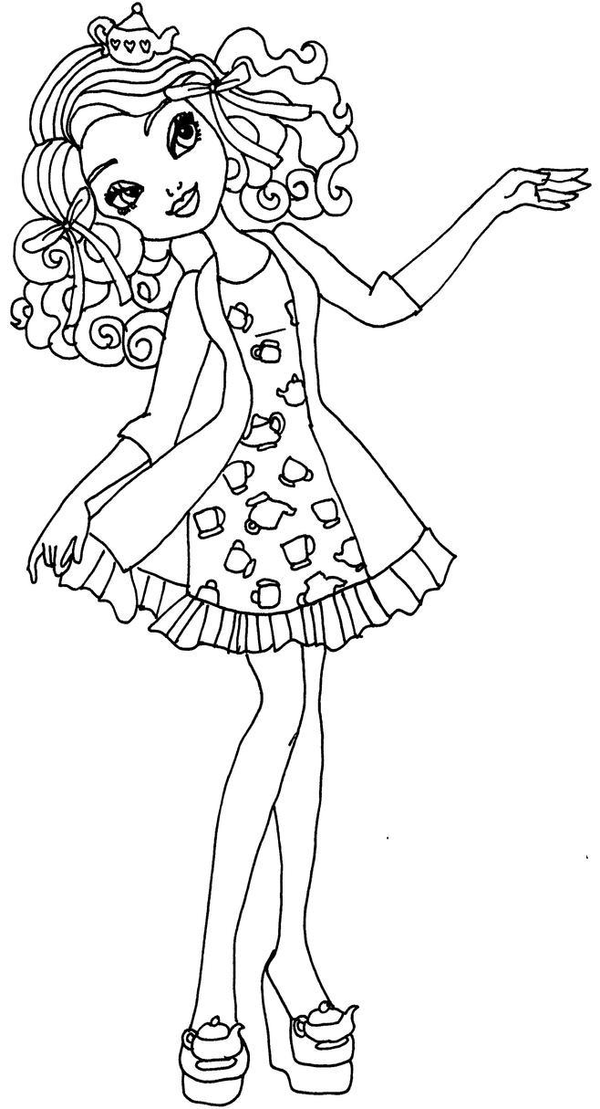 Getting fairest madeline by elfkena on deviantart for Madeline coloring pages