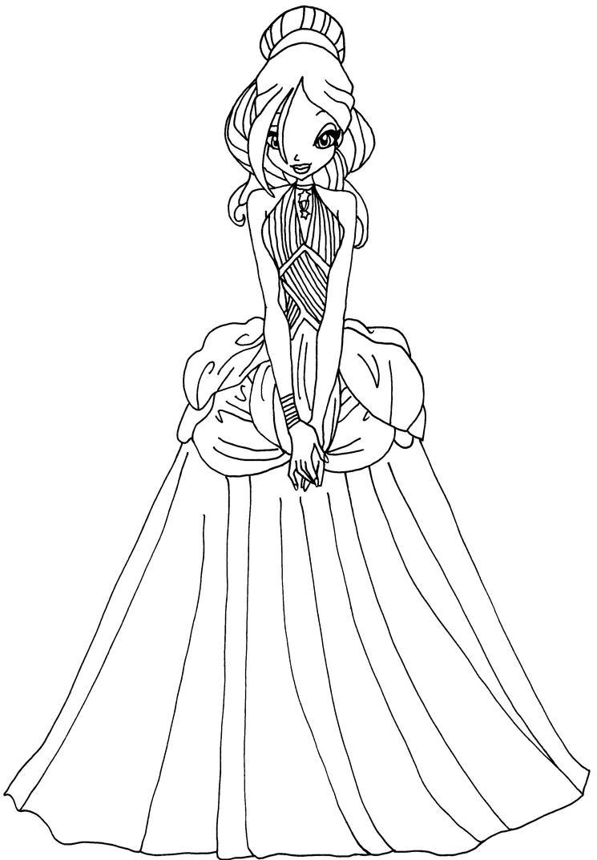 Daphne Dress By Elfkena