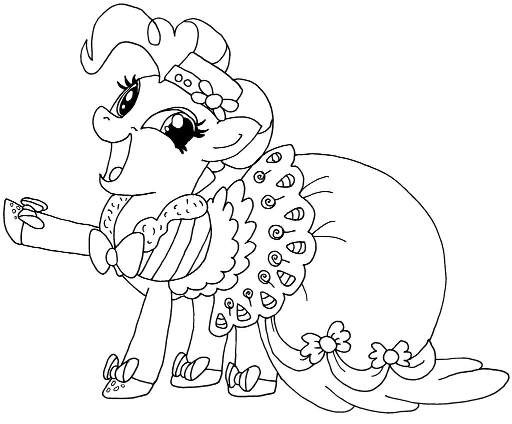 Young Pinkie Pie Coloring Pages q Pinkie 20Pie 20Coloring