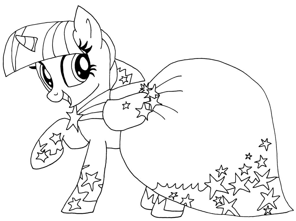 Twilight Sparkle Coloring Pages Princess Twilight Sparkle Coloring Pages