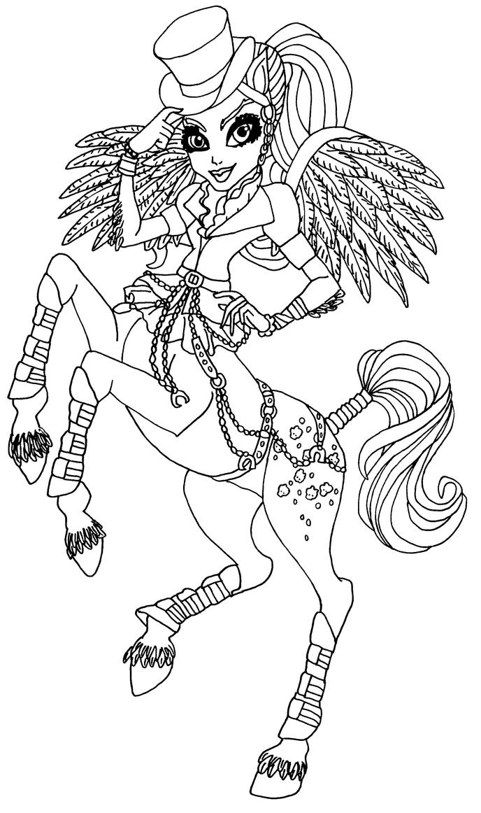 avia trotter coloring pages - photo#3