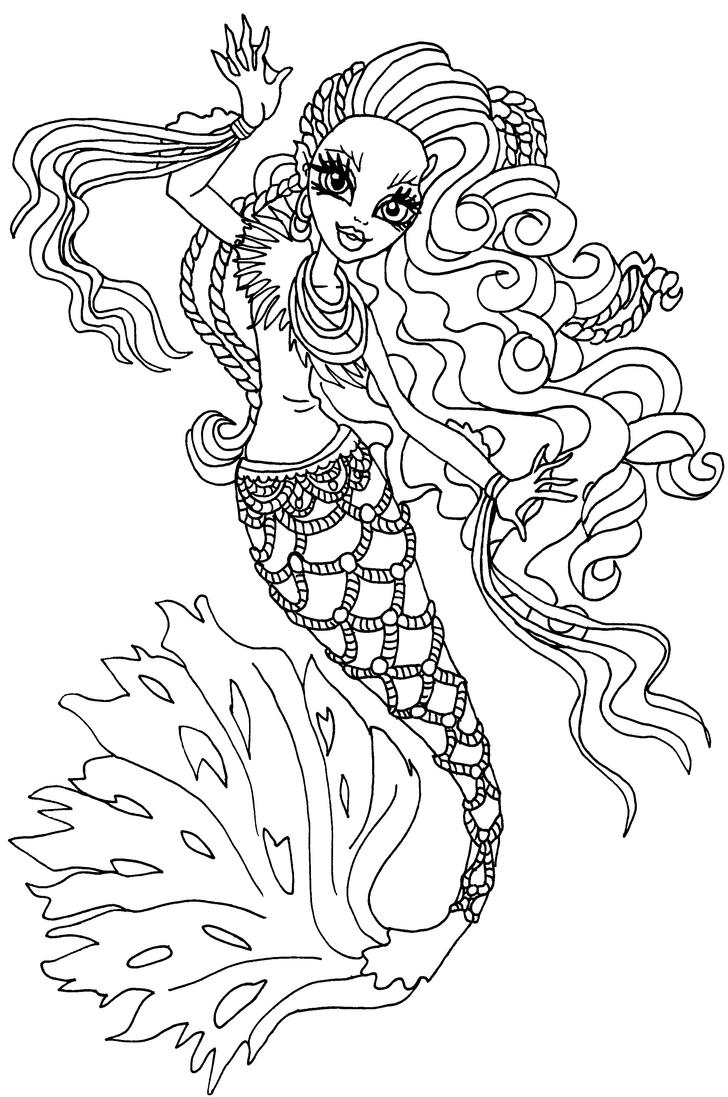 freaky fusion coloring pages - photo#20