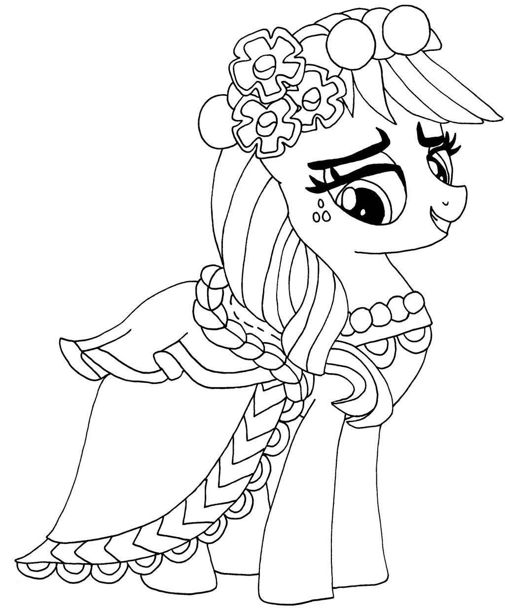 My Little Pony Portfolio Coloring