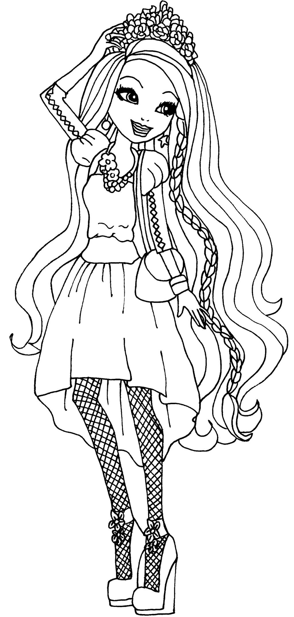 holly ohair coloring pages - photo#3