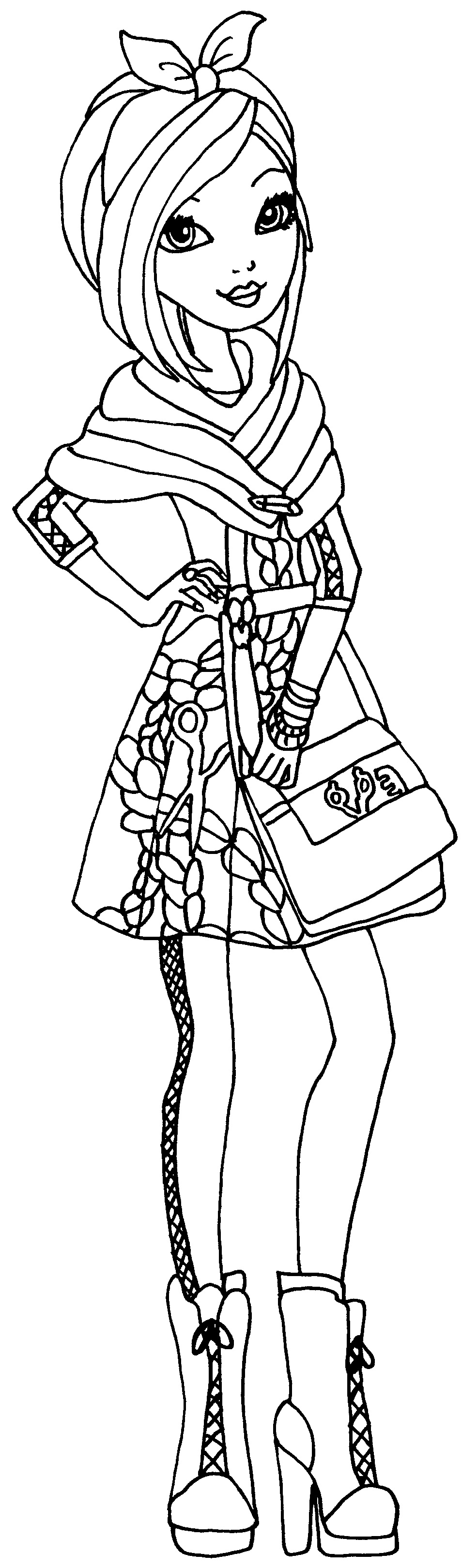 Coloring pages for ever after high - Coloring Pages For Ever After High 36