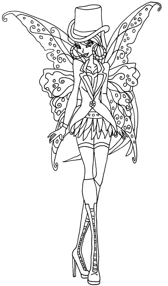 gothic art coloring pages - photo#6