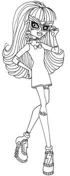 🎨 Monster High Coloring Pages - Kizi Coloring Pages | 350x140